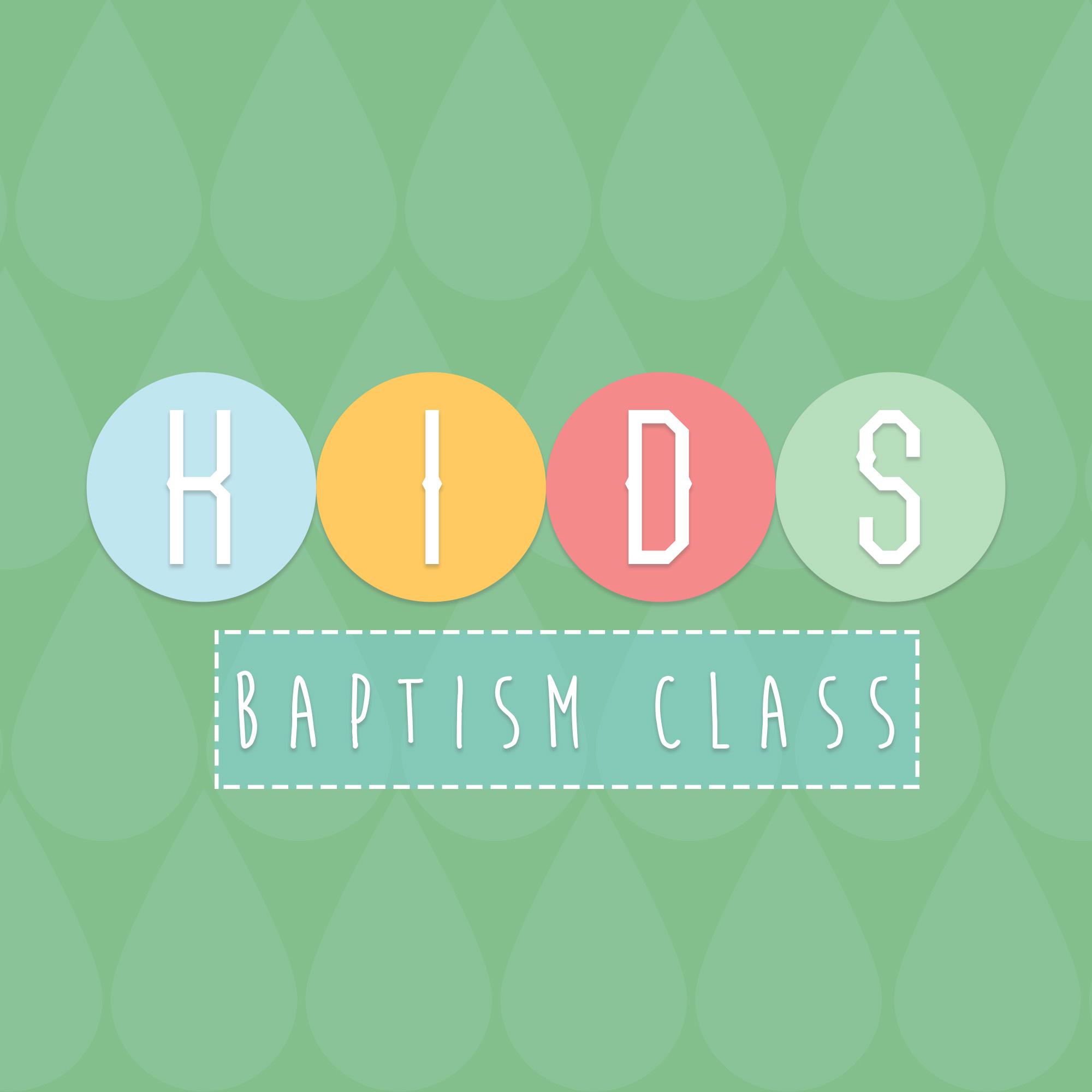 Baptism class square