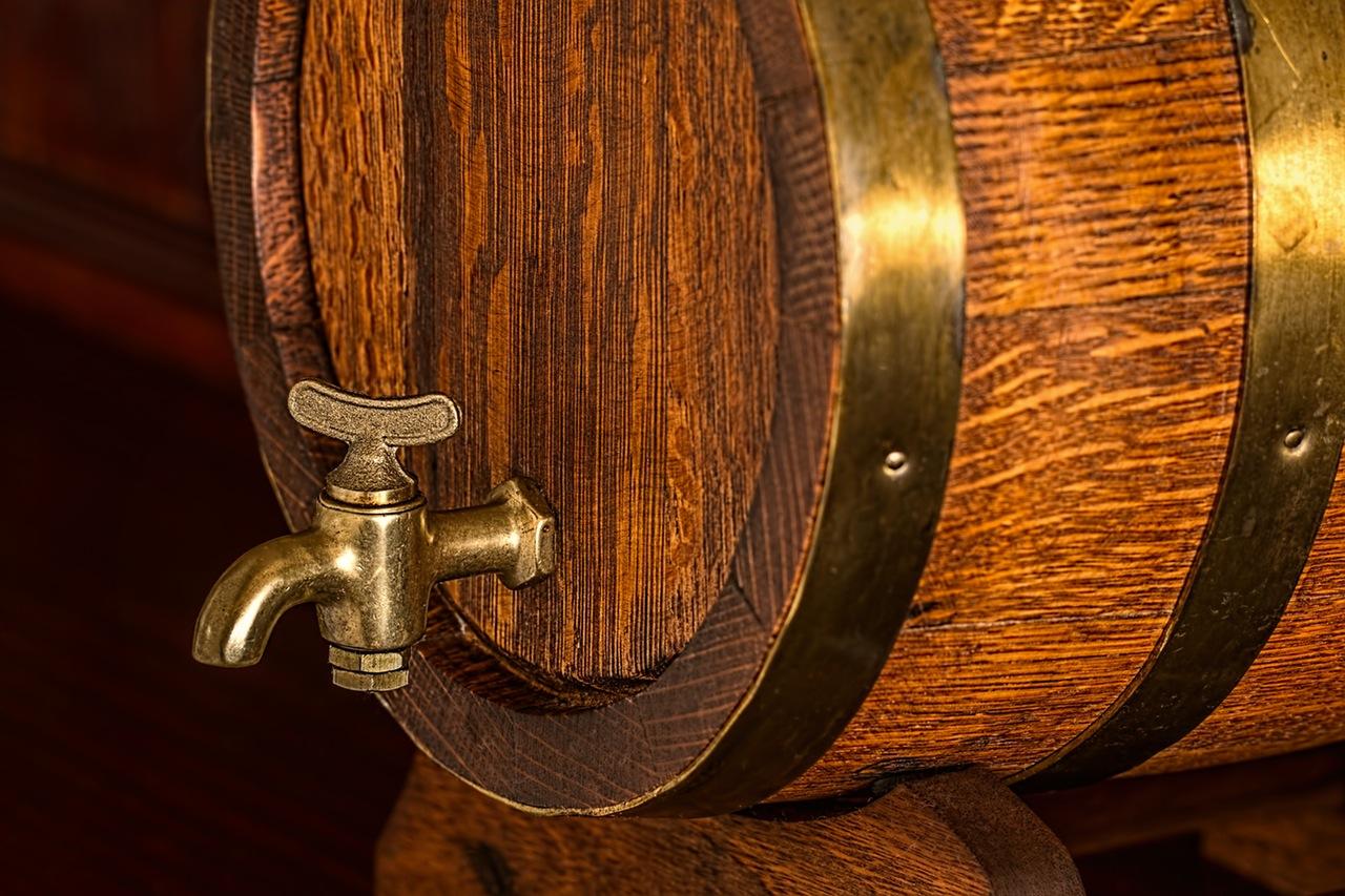 Beer barrel keg cask oak 2