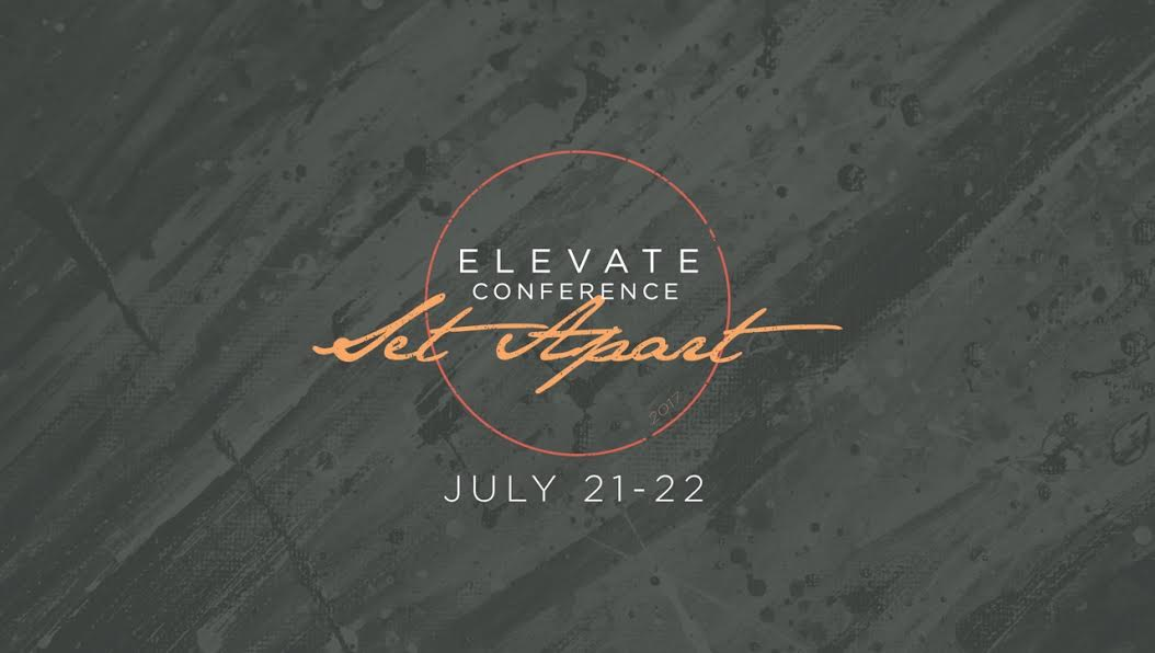 Elevate conference graphic