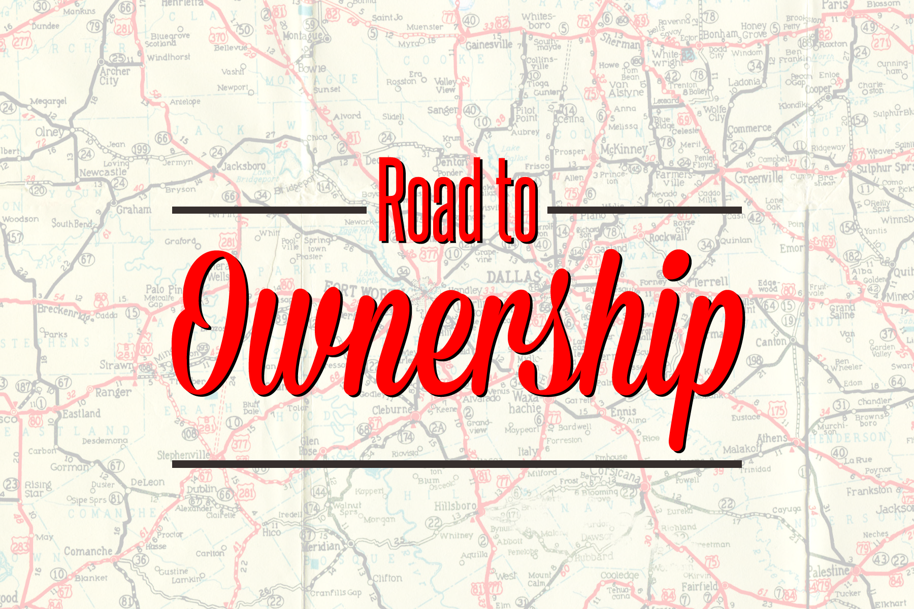 Road to ownership