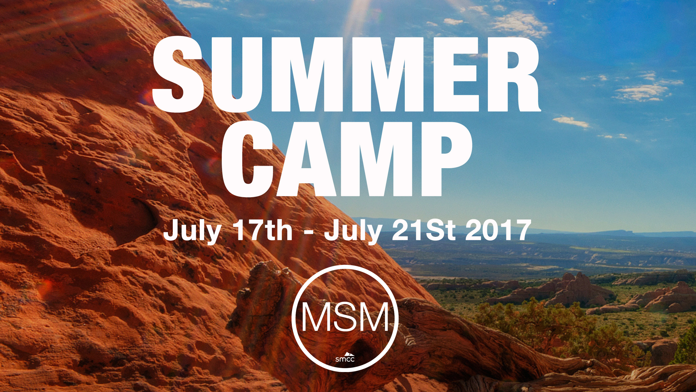 2017 msm summer camp main graphic