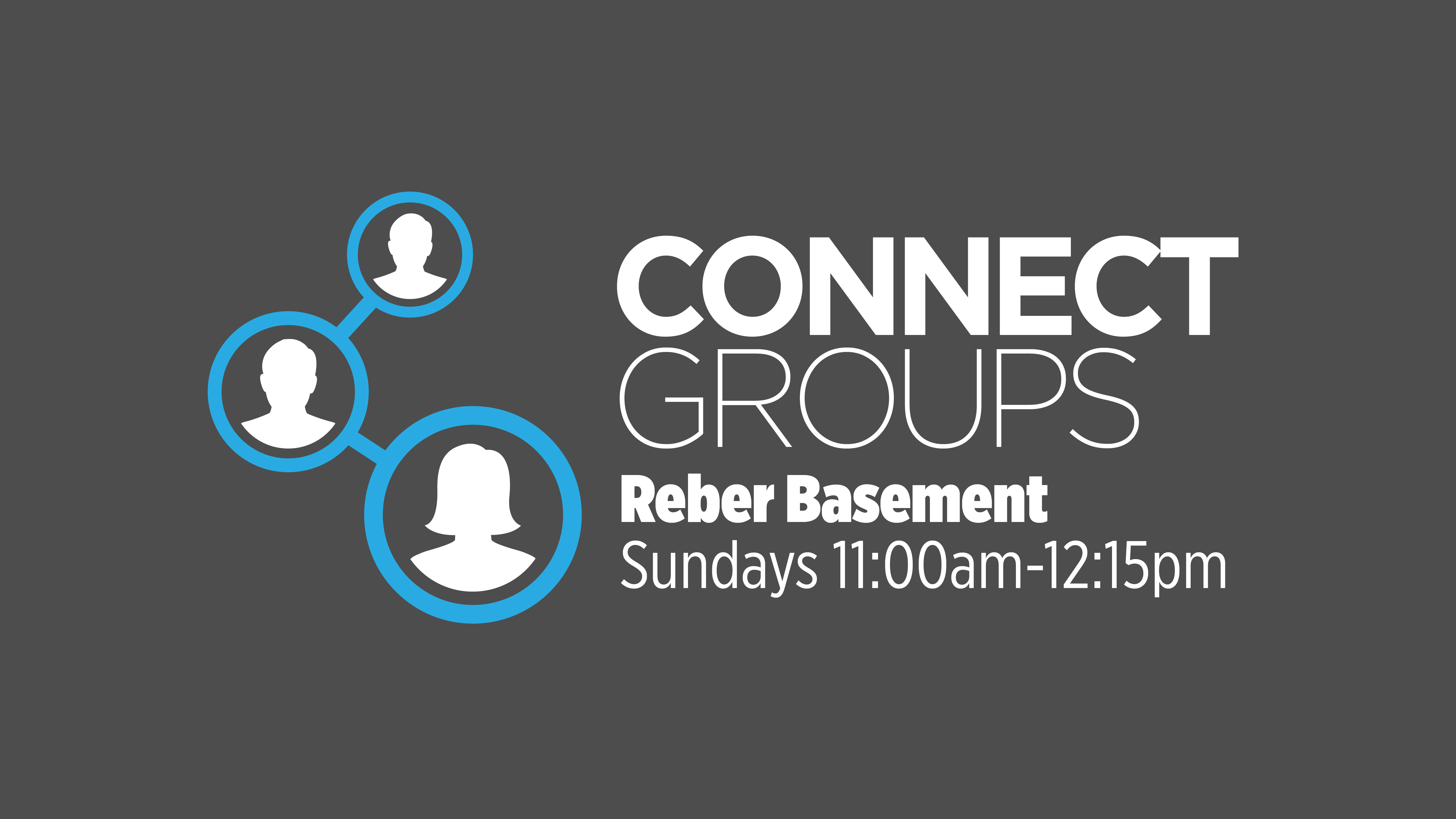 Connect groups time