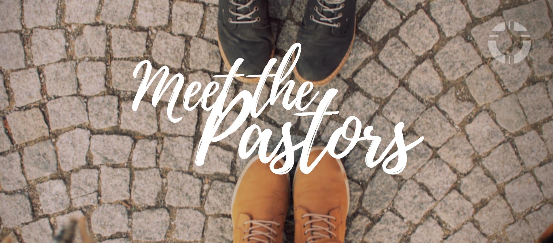 Meet the pastors banner generic