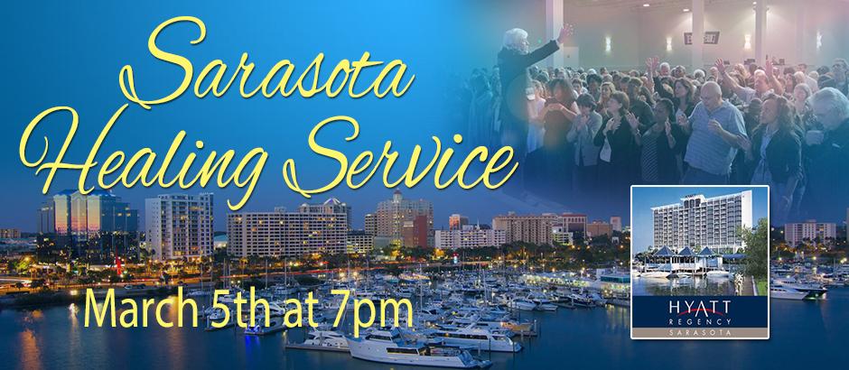 Sarasota healing service