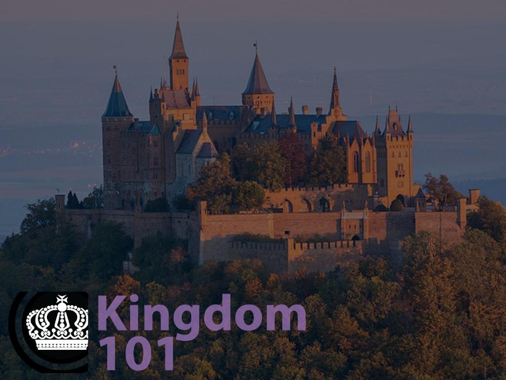 Kingdom 101 registration graphic