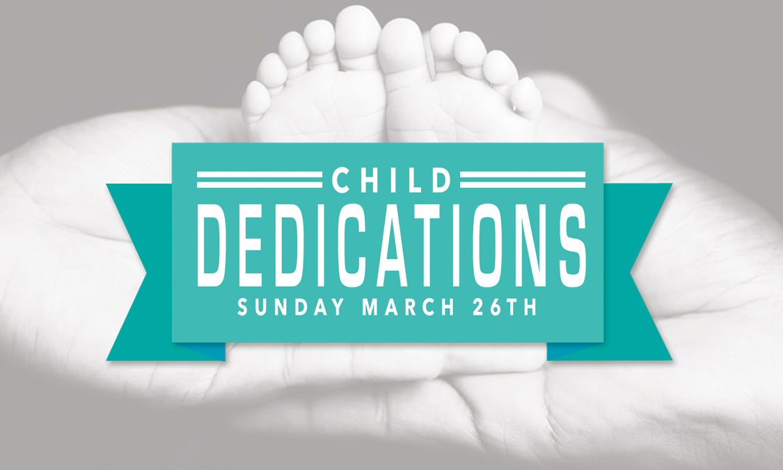 Childdedications event