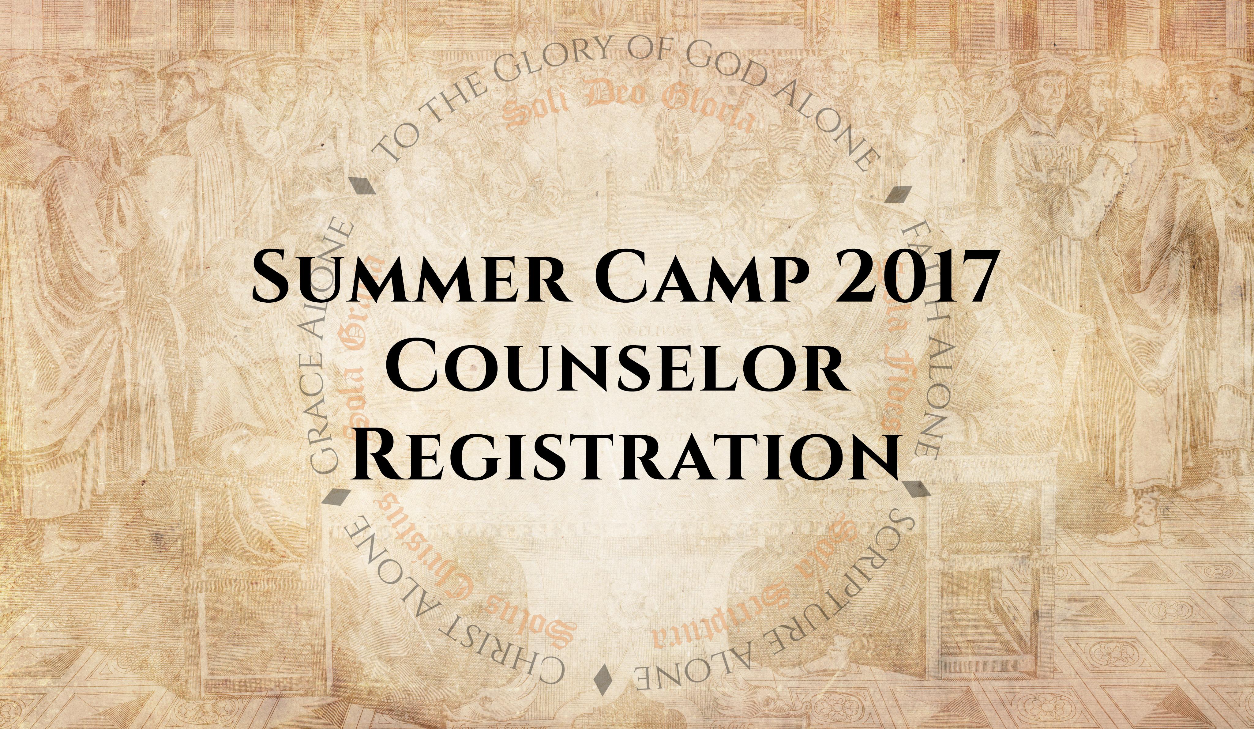 Counselor registration