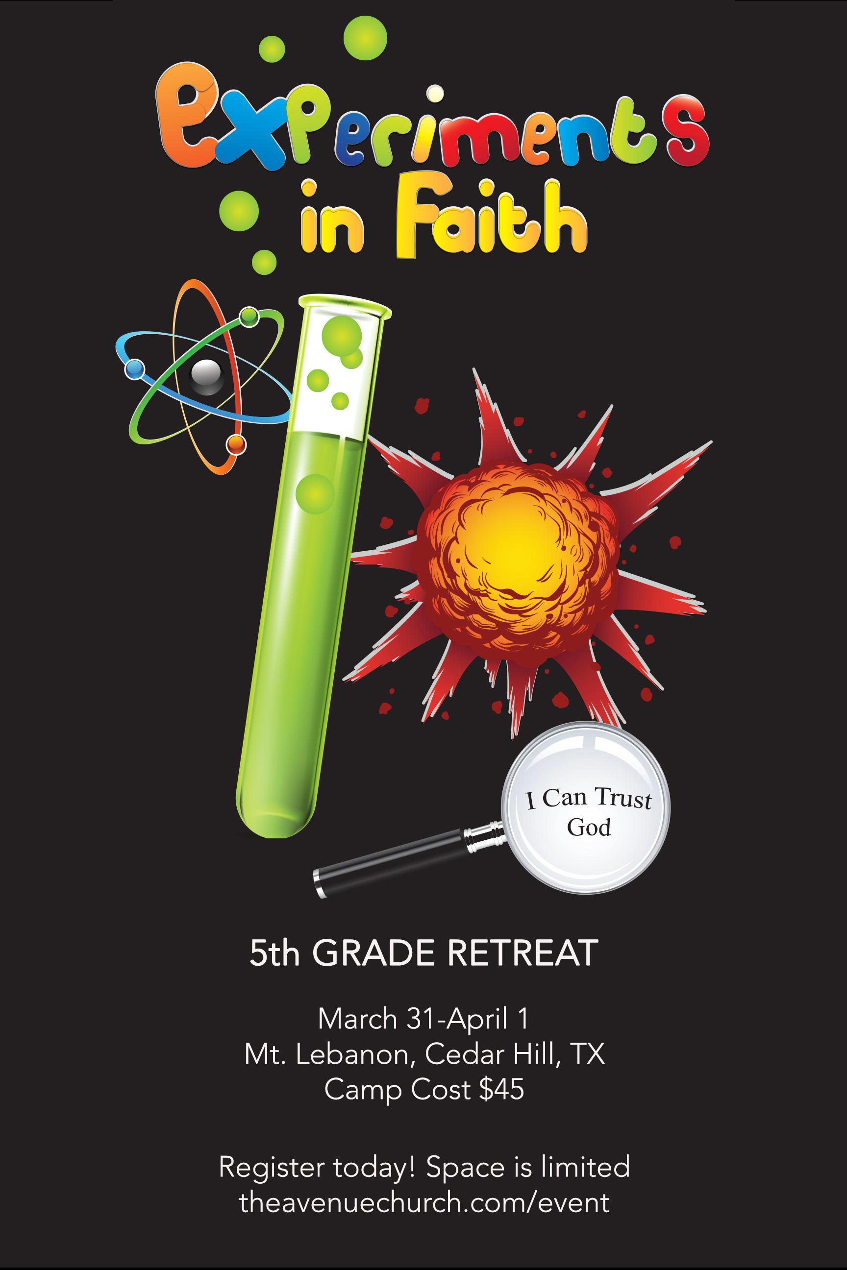 5th grade retreat