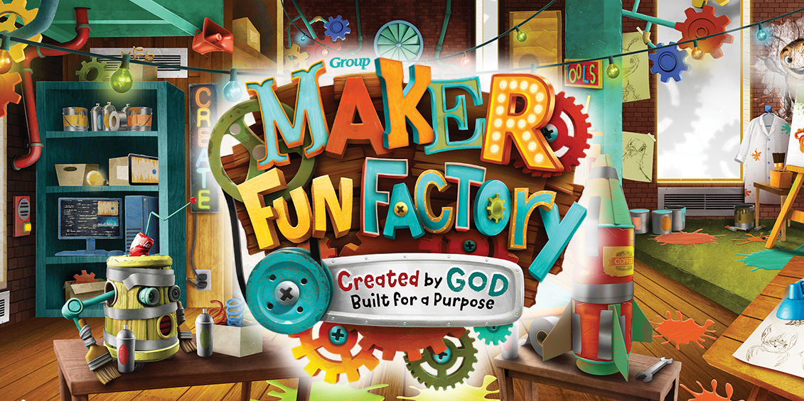 Maker fun factory vbs og