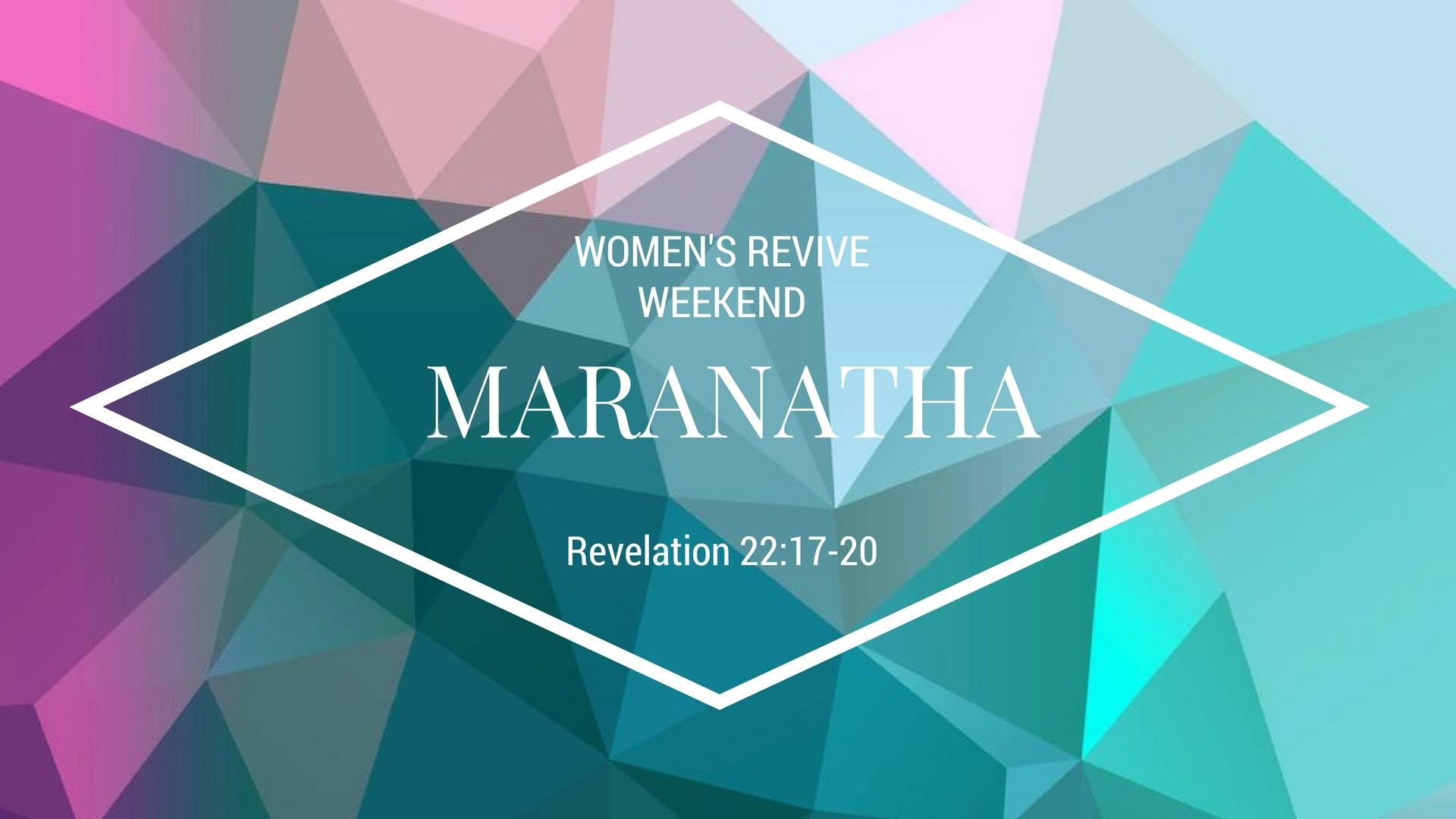2017 revive retreat logo