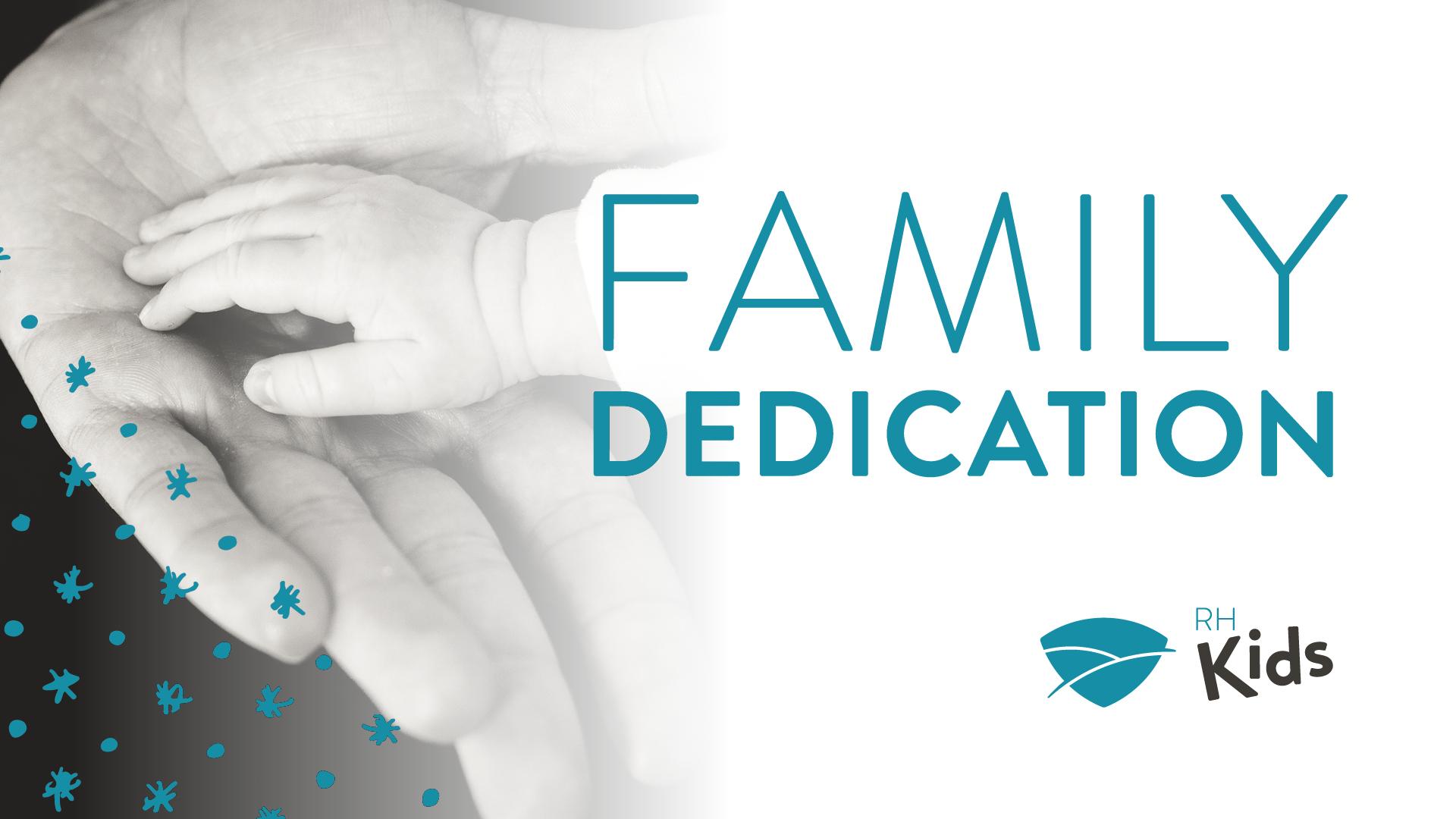 Family dedication 2016 event banner