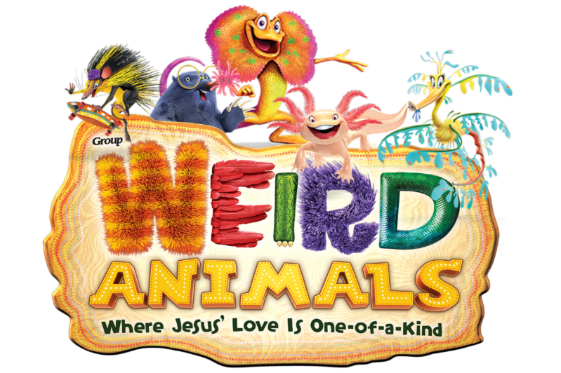 Wierd animals logo