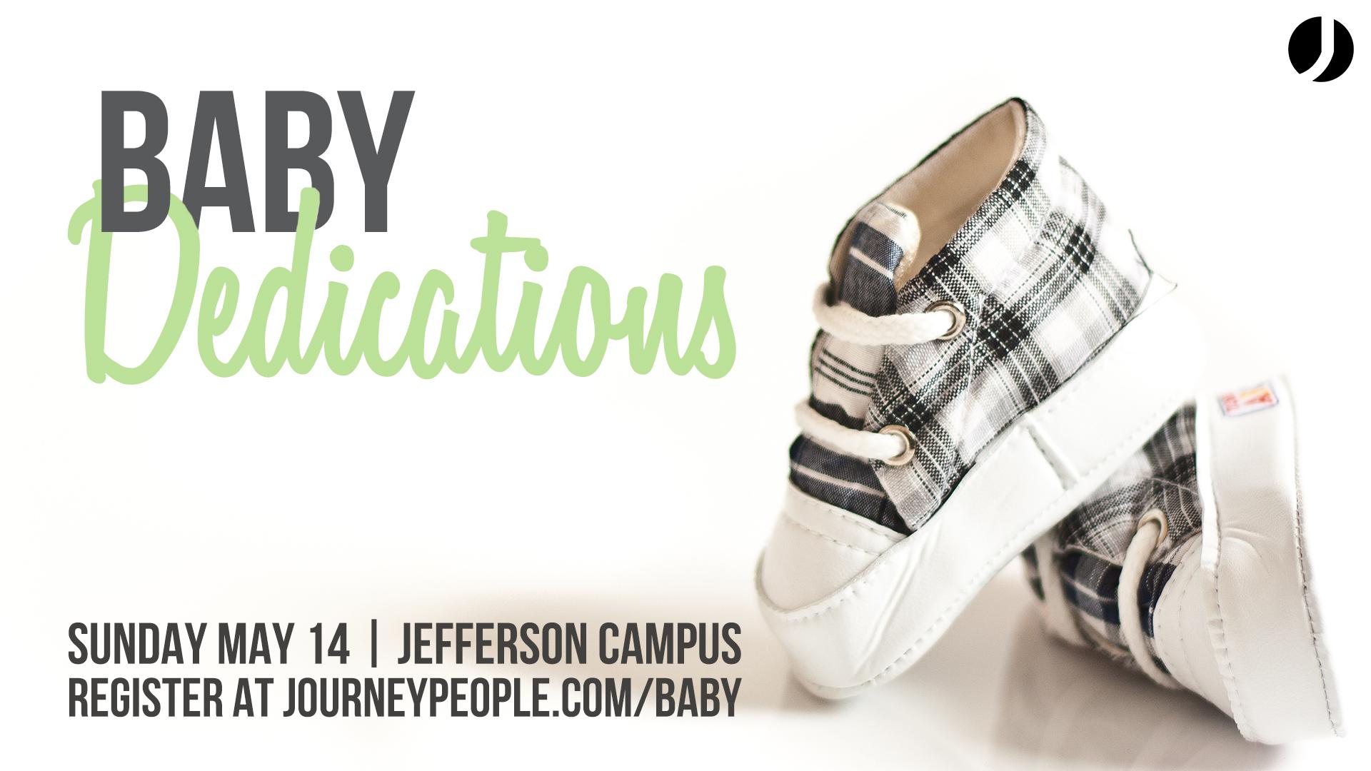 Jefferson baby dedication