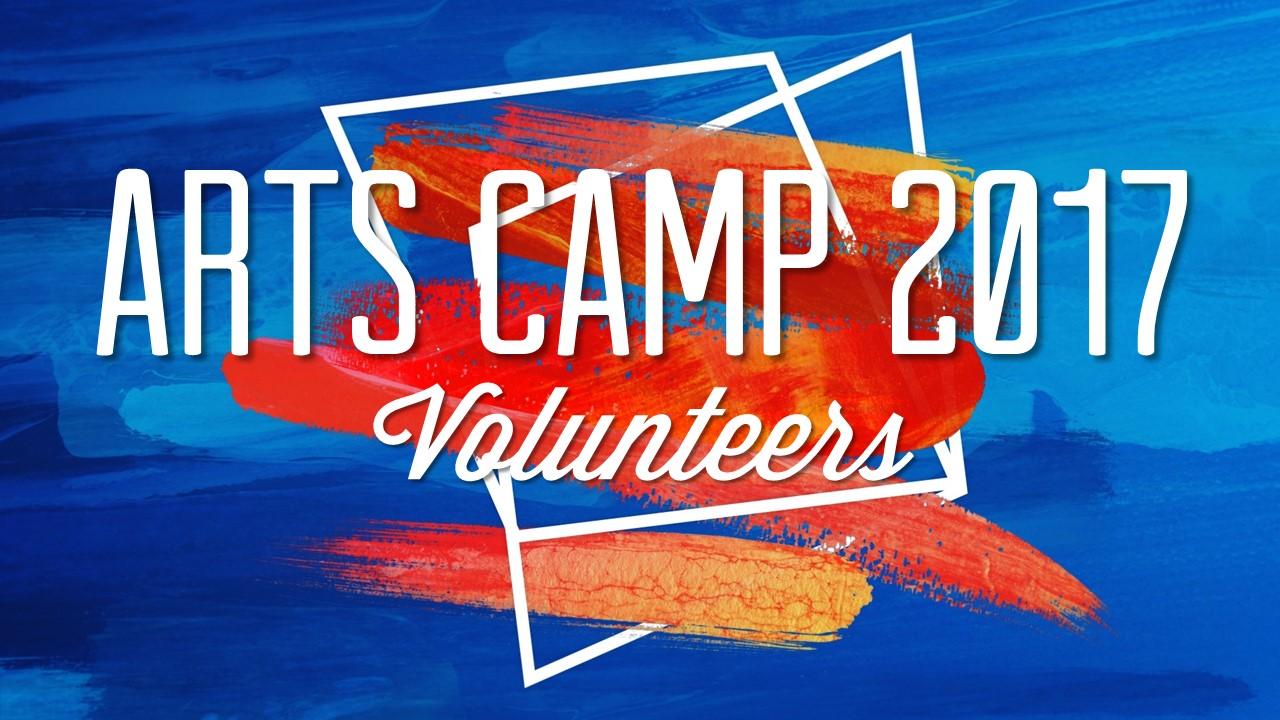 Arts camp announcement 2017