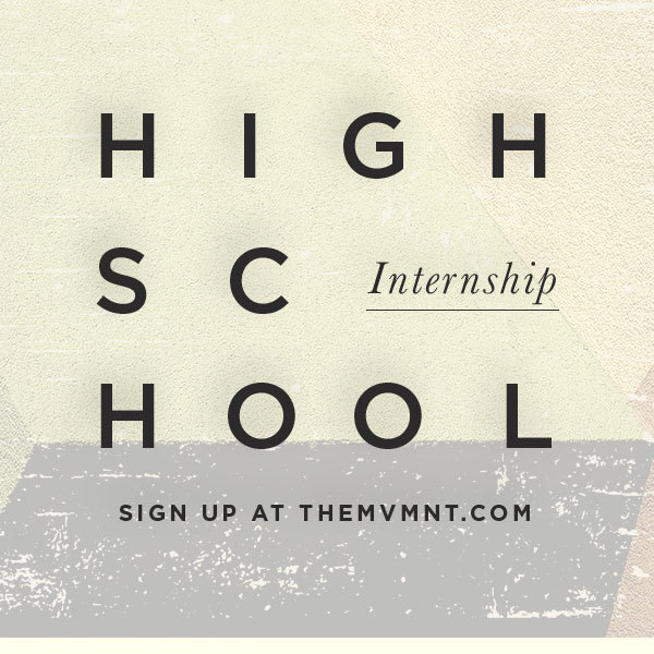 Highschool internship