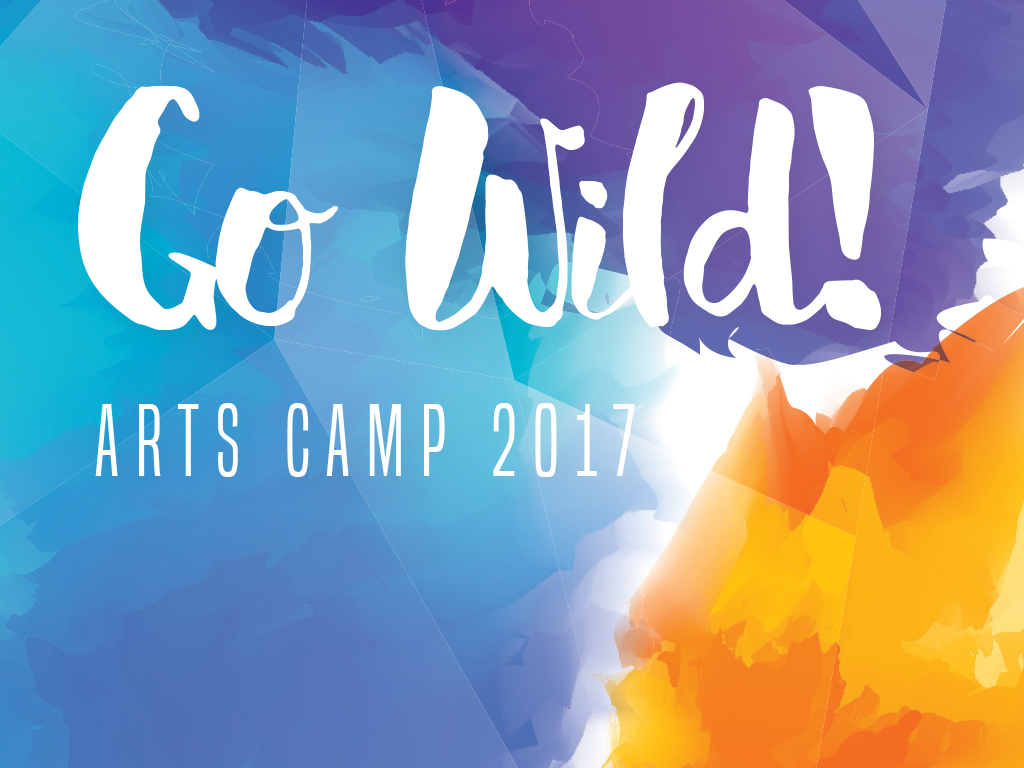 Arts camp 2017 event