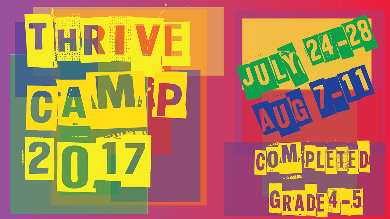 Event thrive camp 2017