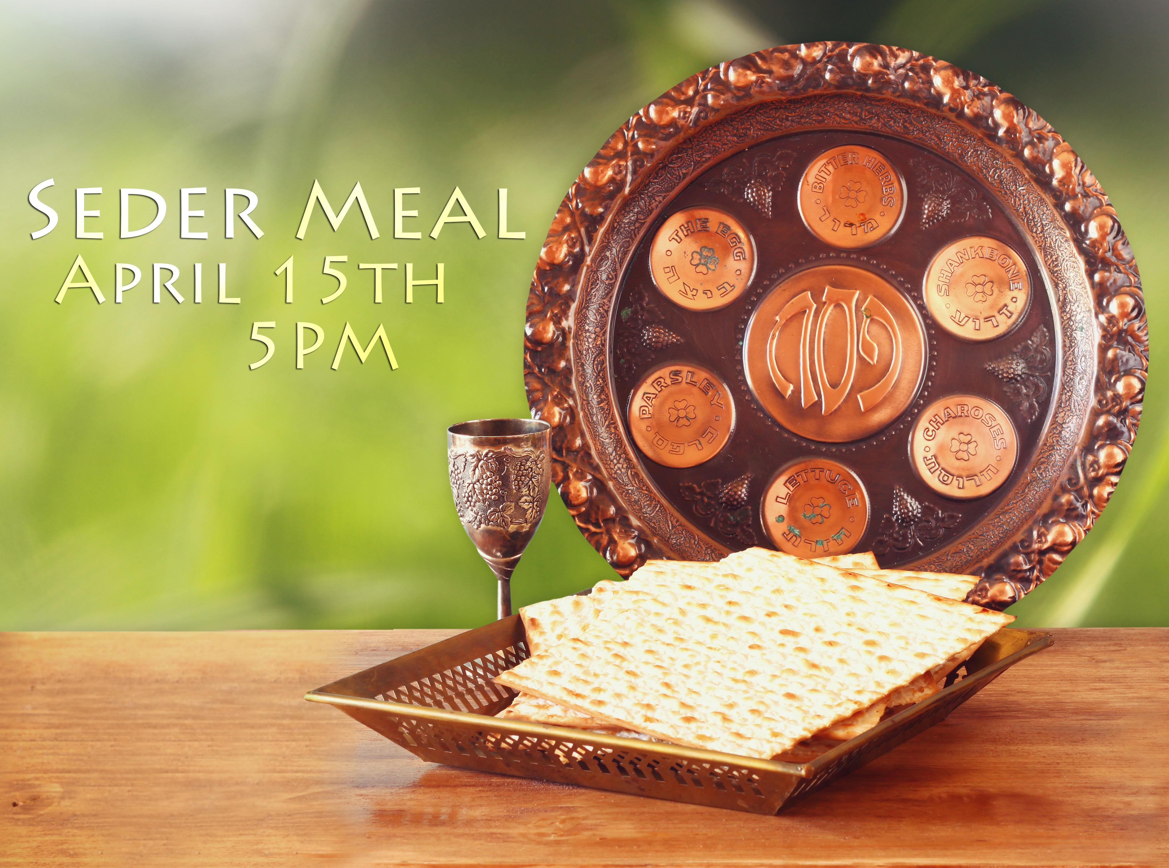 Seder meal2