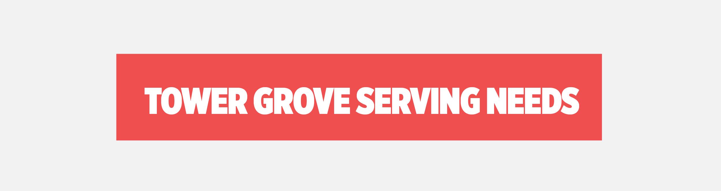 Serving needs