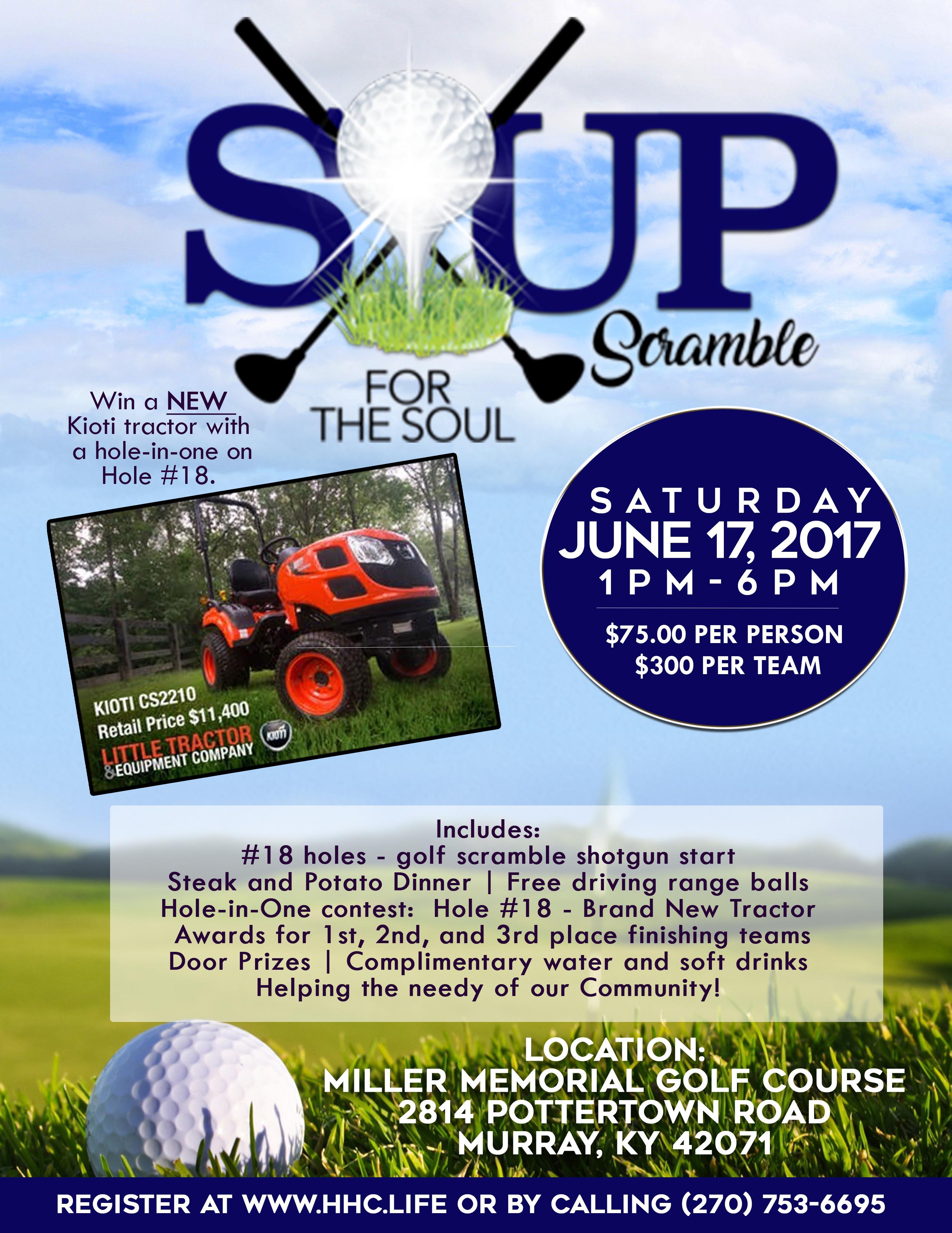 Soup for the soul digital flyer