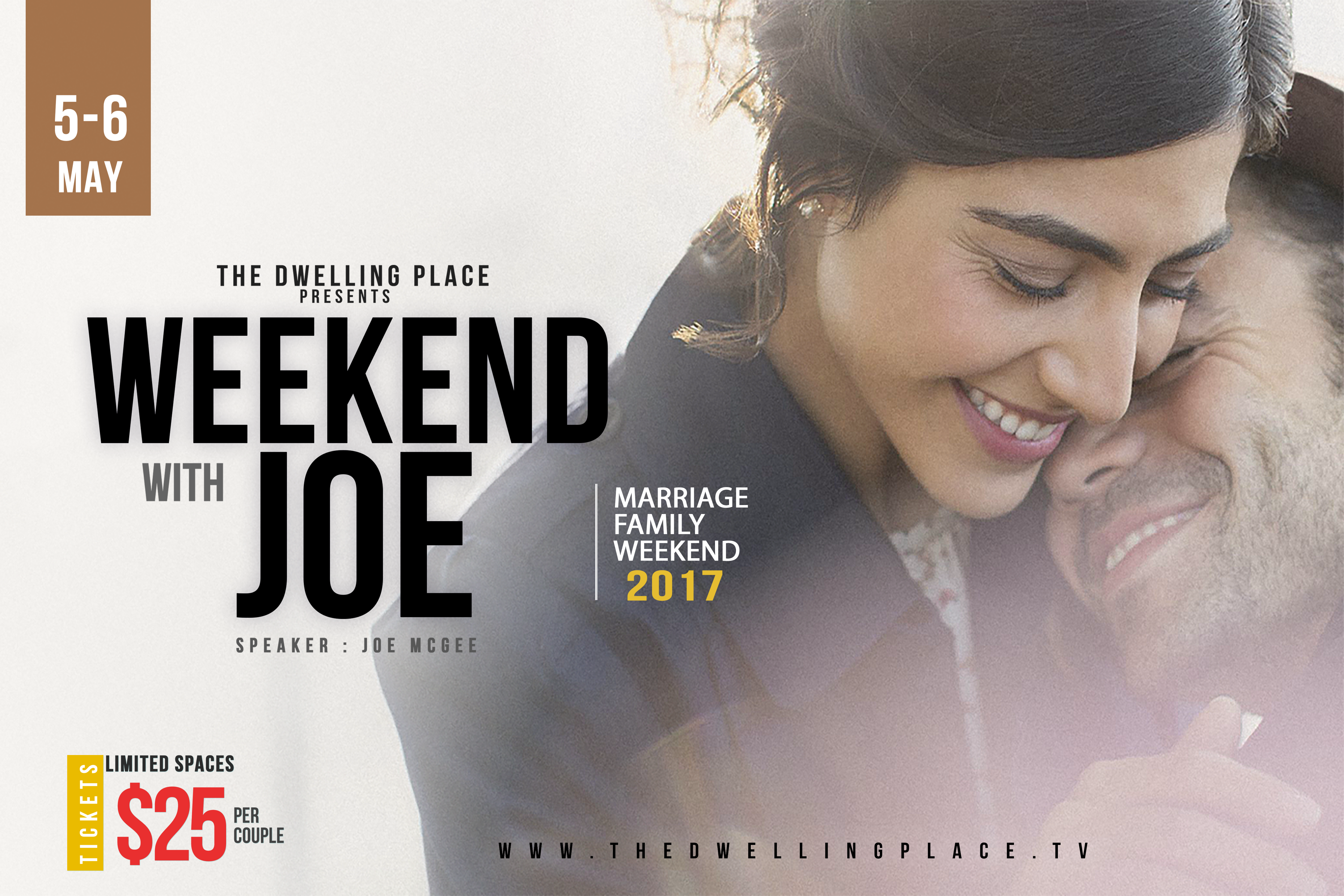 Weekend with joe poster size
