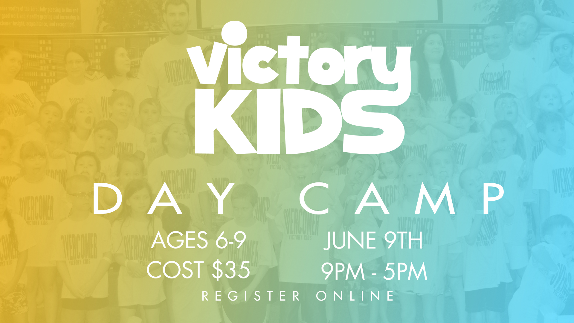 Victory kids day camp 2017