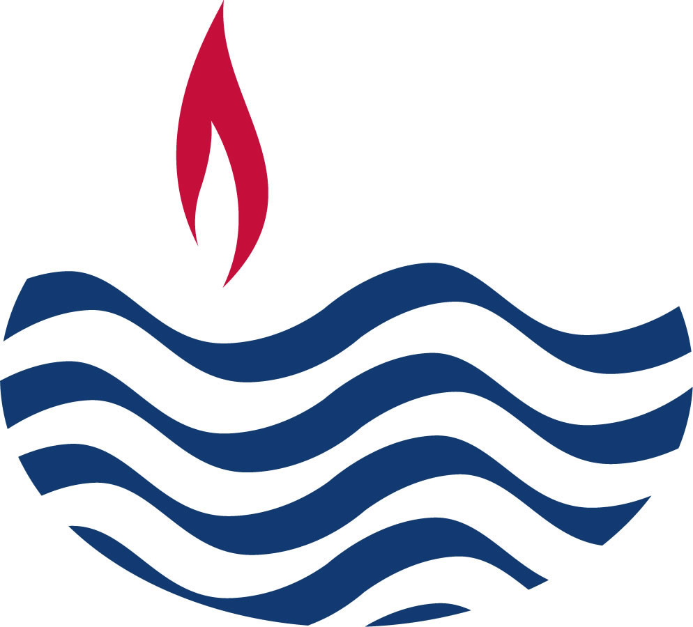 Waterflame red blue