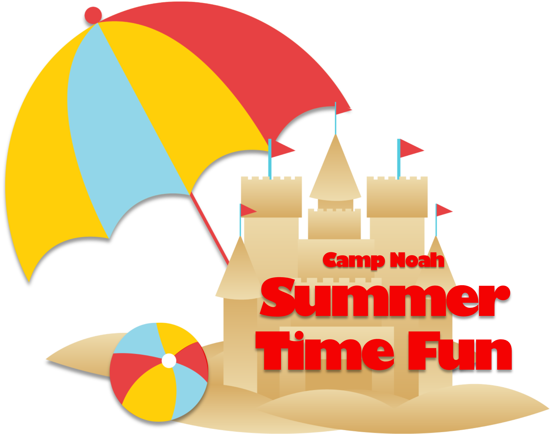 Summer time fun logo