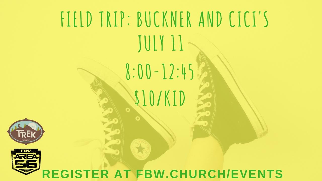 Field trip  buckners and cici s  1