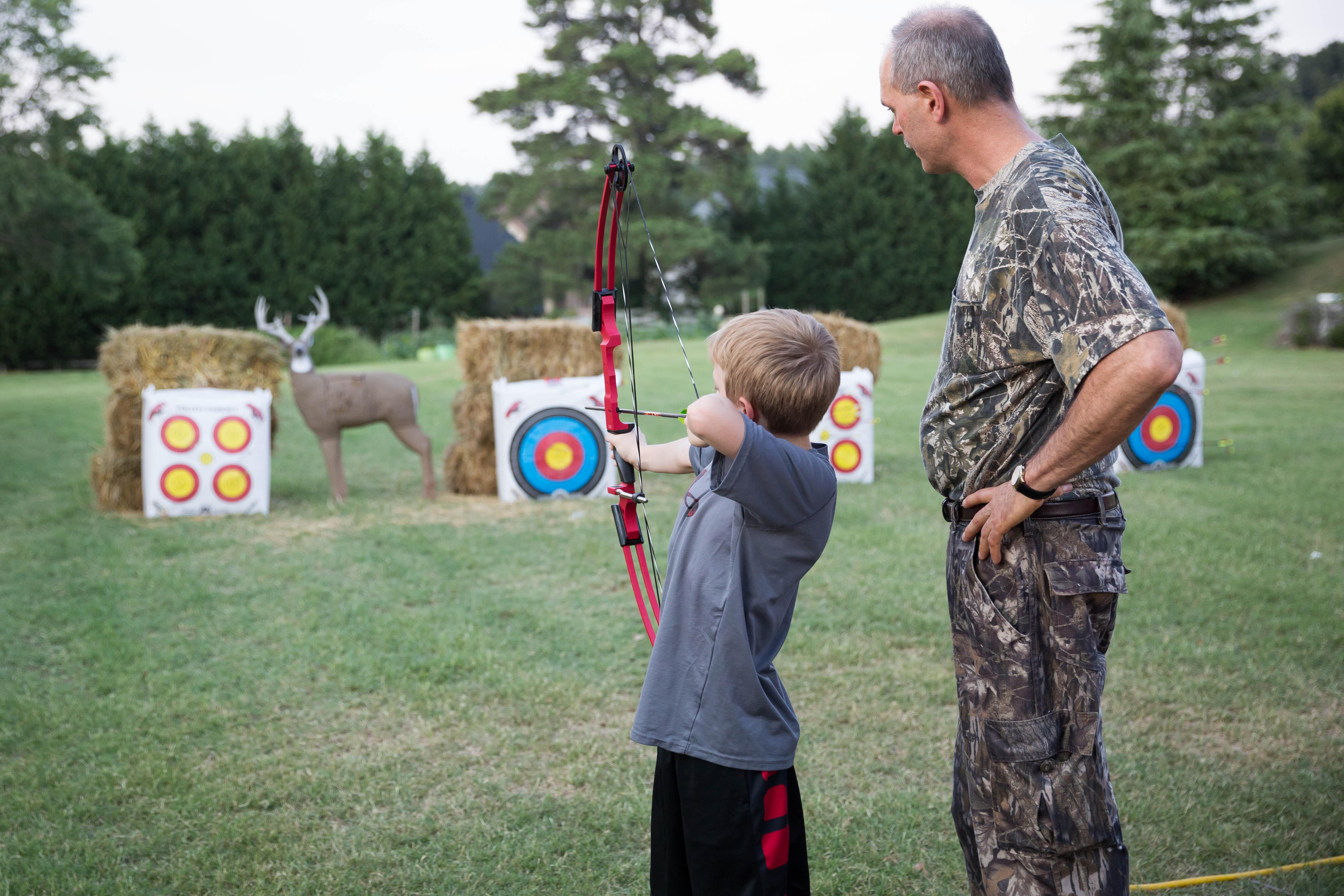 Archery camp 26