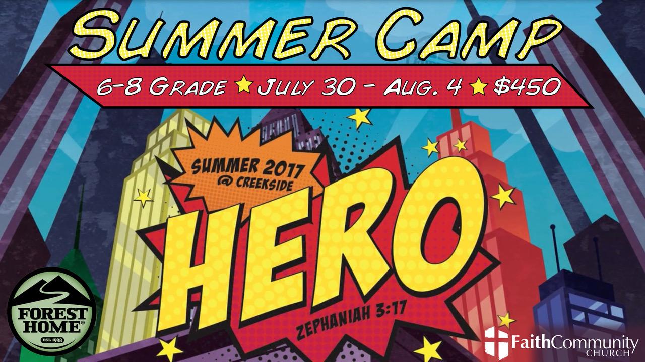 Summer camp 2017 planning center