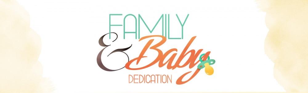 Family baby dedication web