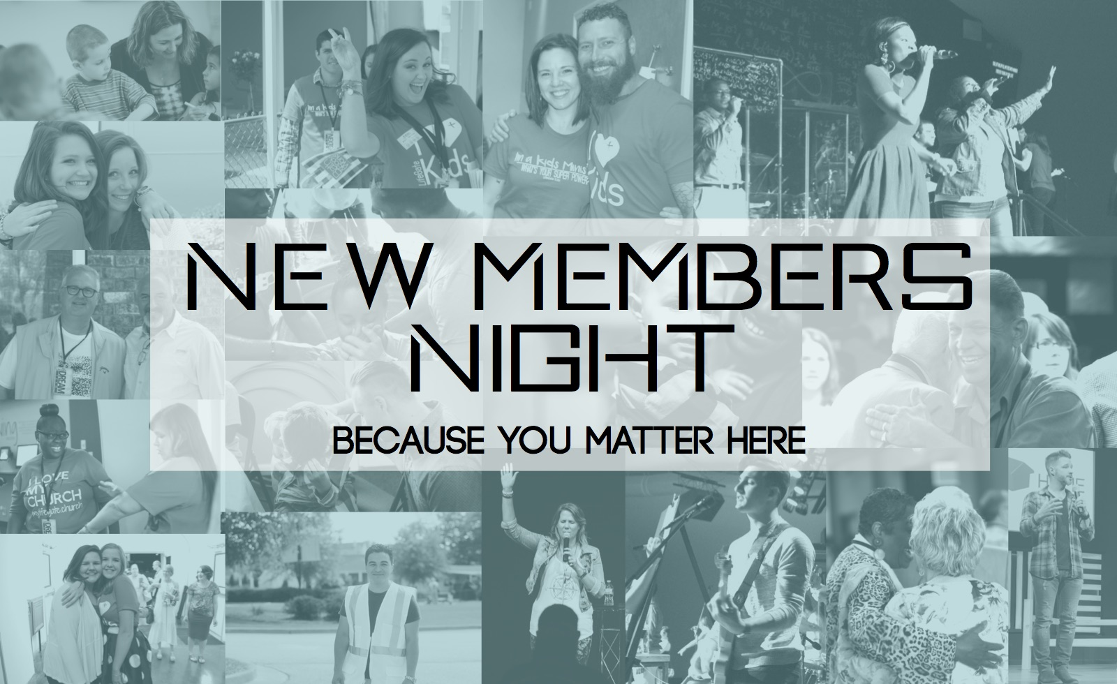 New members night logoj