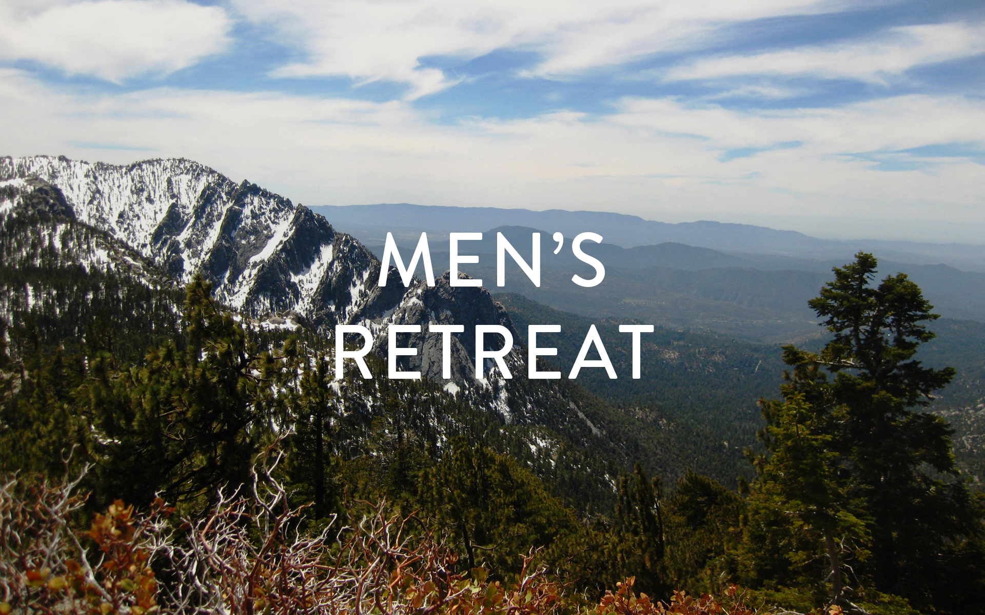 Men s retreat 2017