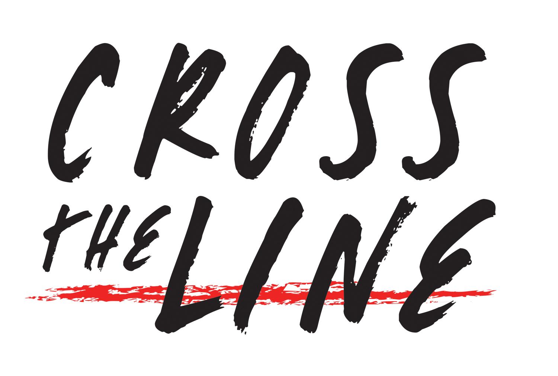 Logo crosstheline