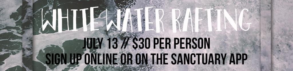 White water rafting registration