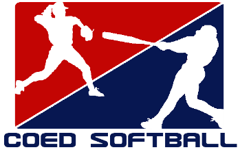 Coed softball logo
