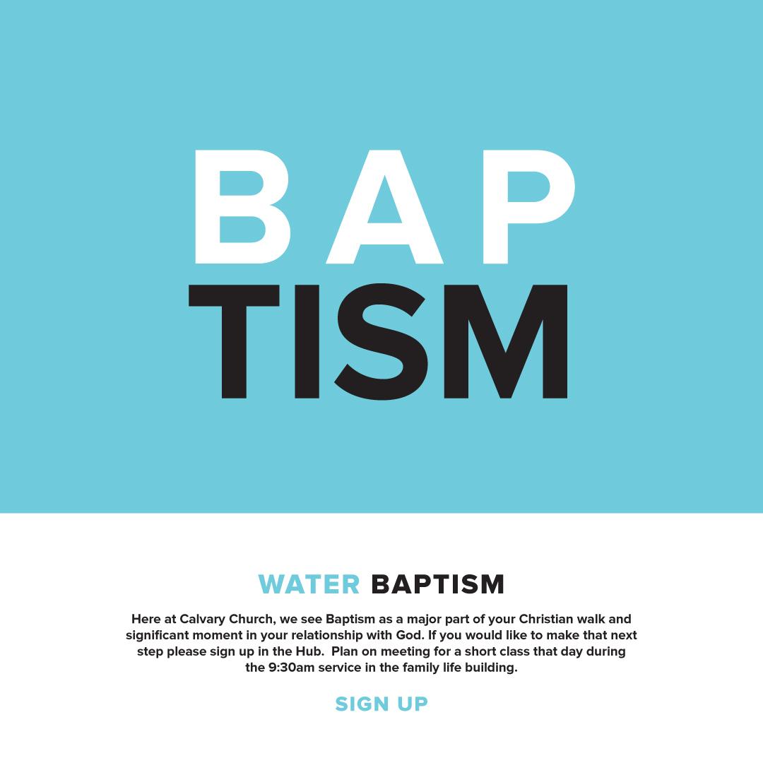 Baptism social  1