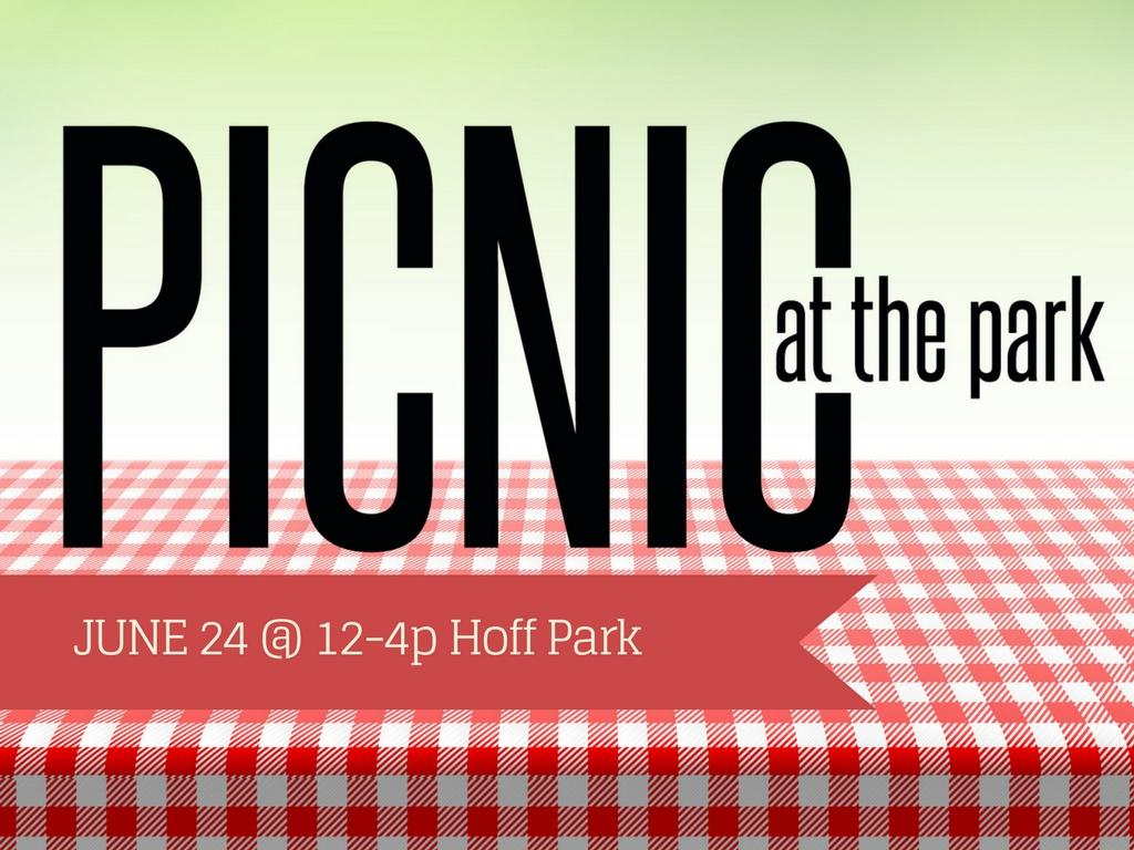 R picnic at the park