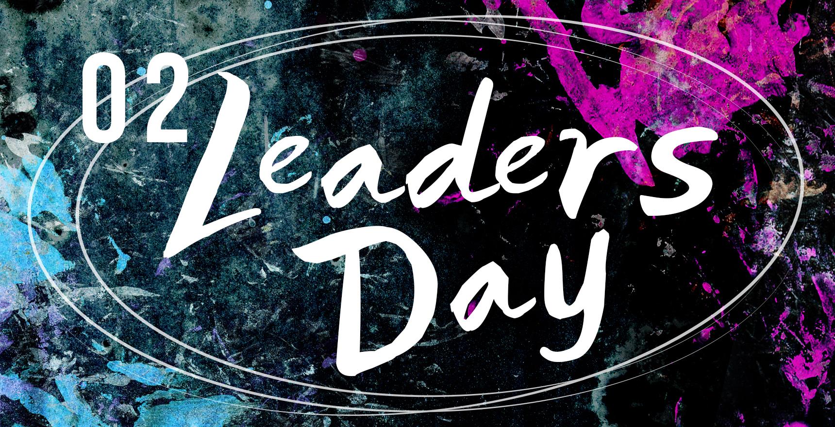 O2 leaders day slide