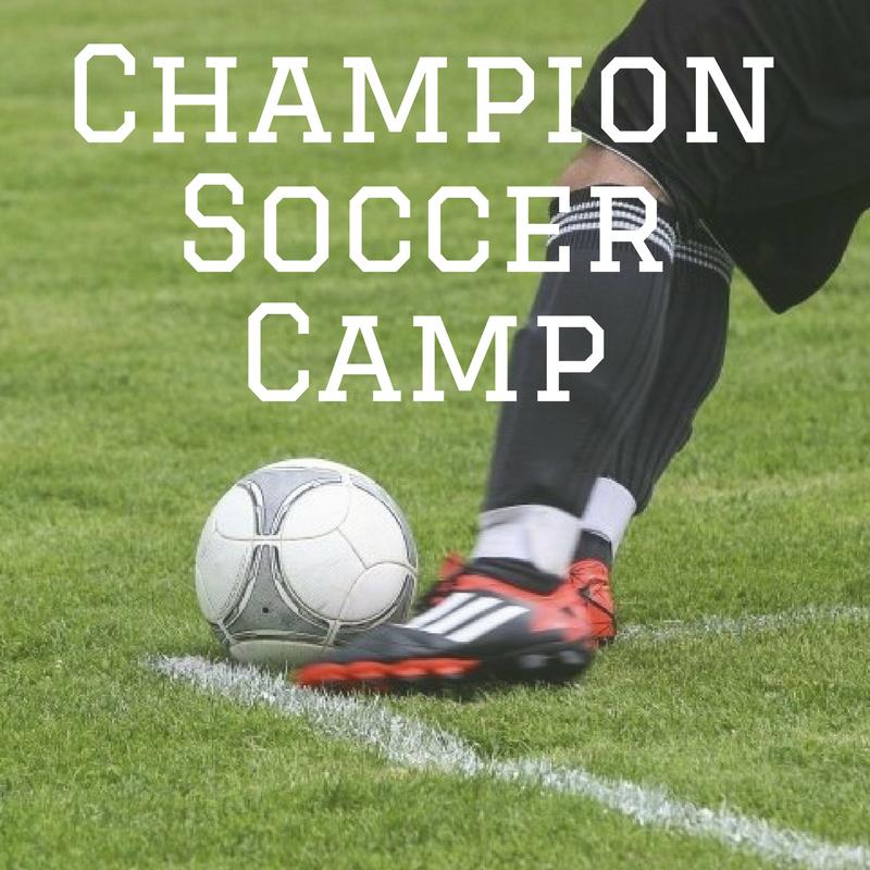Champion soccer camp