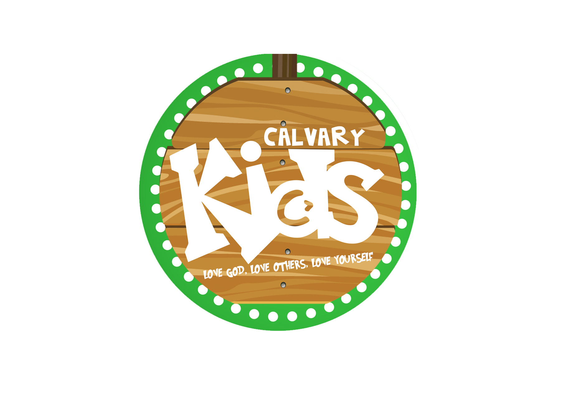 Calvarykidslogo woodbackground