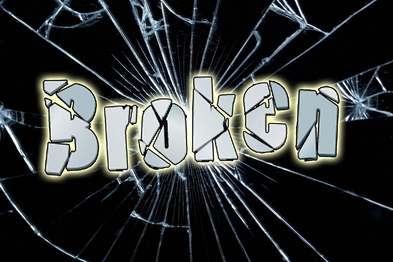 Broken logo   lg