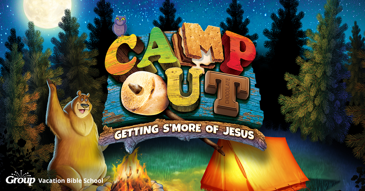 Camp out weekend vbs og