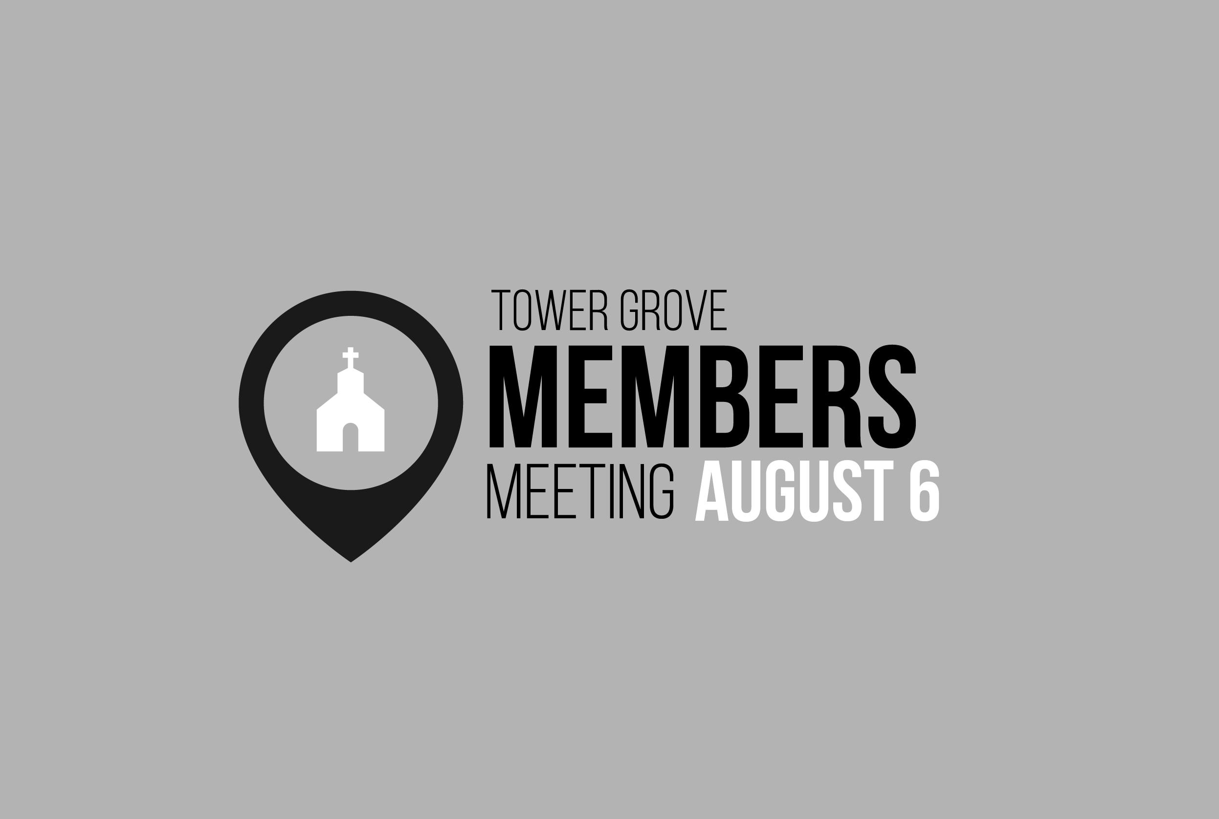 Members meeting mailchimp 2