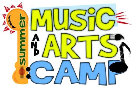 Music and arts camp logo