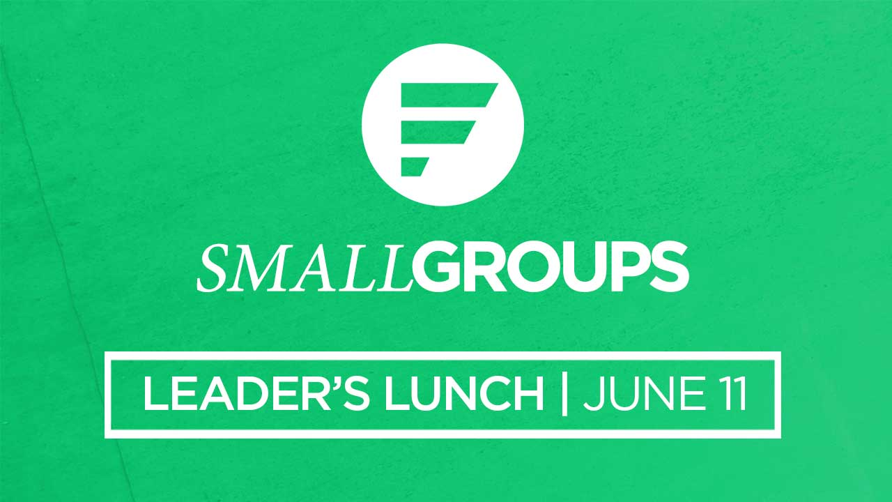 Small group leader s lunch