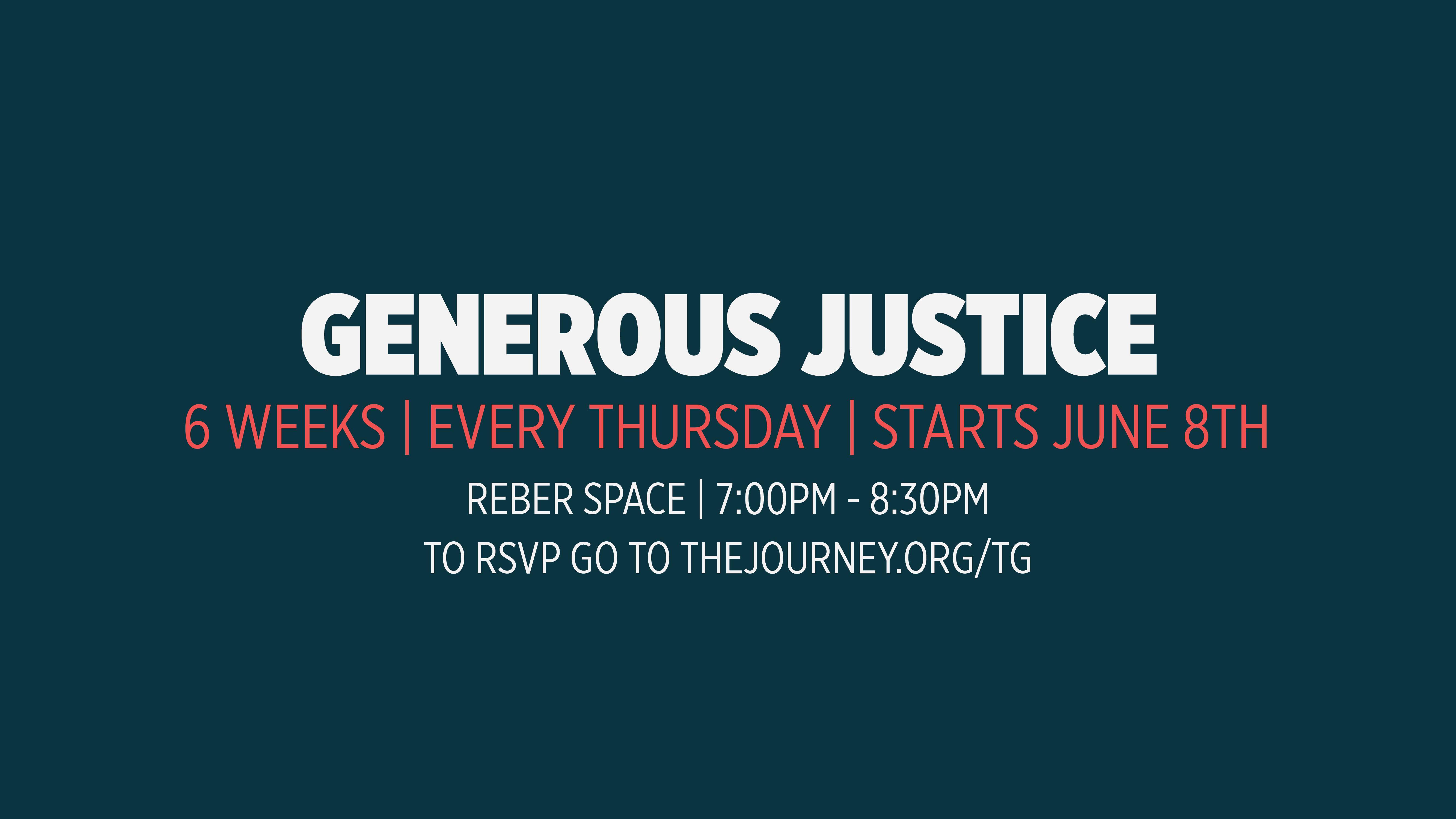 Generous justice slide 01