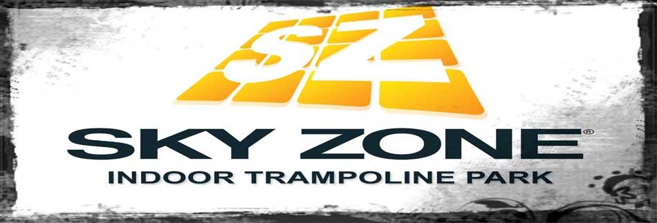 Sky zone banner