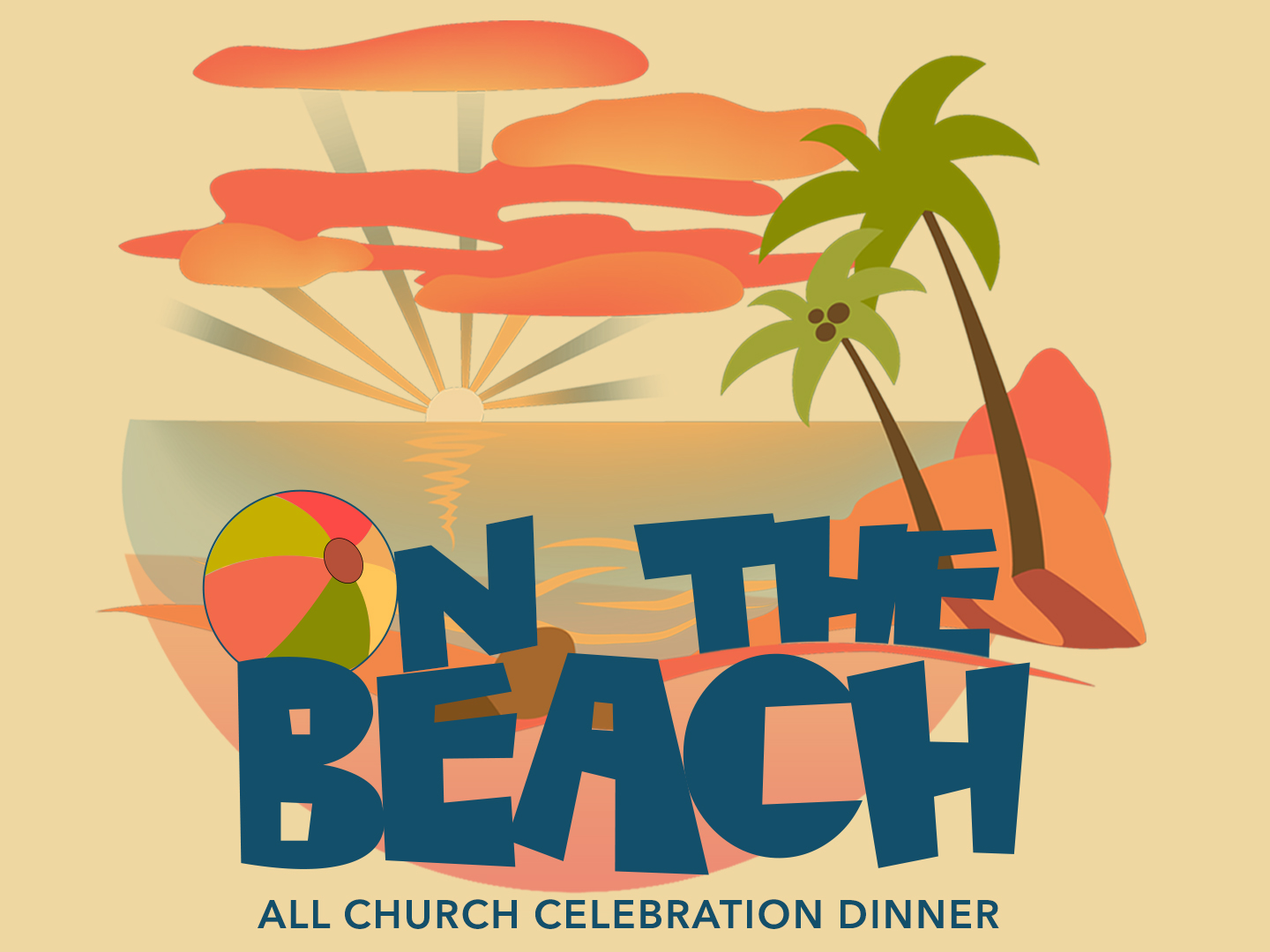 On the beach logo 1024